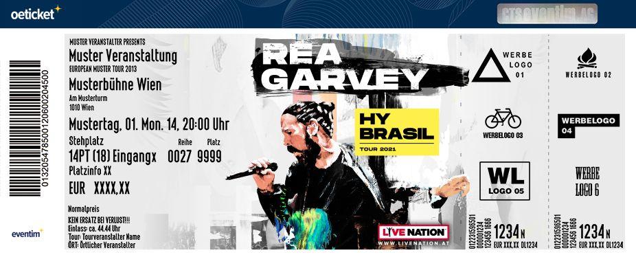 Rea Garvey Konzerte 2021