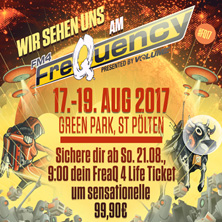 FM4 FREQUENCY 2016 - 3 TAGESFESTIVALPASS