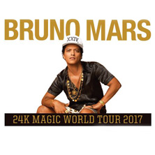 Bruno Mars - 24K Magic World Tour